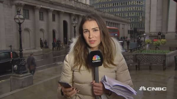 Brexit is number one concern for Bank of England