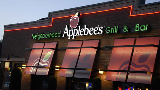 An Applebees restaurant in Buckley Washington.