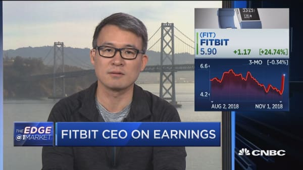 FitBit CEO on smartwatches and earnings