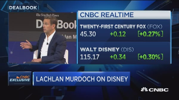 Lachlan Murdoch on Disney and Comcast