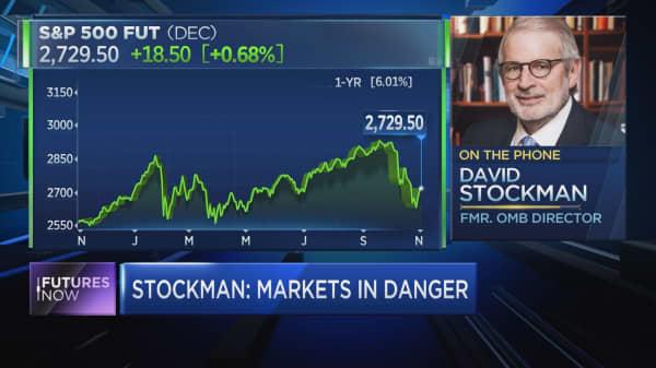 David Stockman: A 40% drop will take out bull market