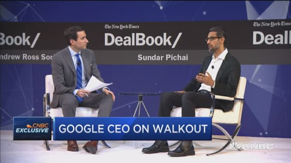 Google CEO: Google has a very transparent culture compared to other companies