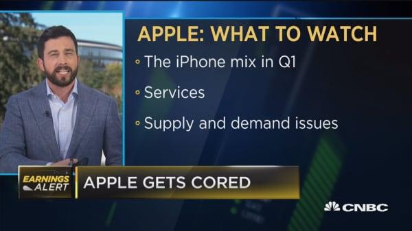 Apple sinks on earnings, will it drag down the rest of tech?