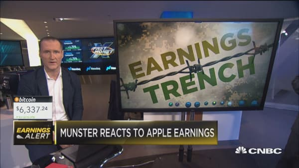 Gene Munster gives his key takeaways on the back of Apple earnings