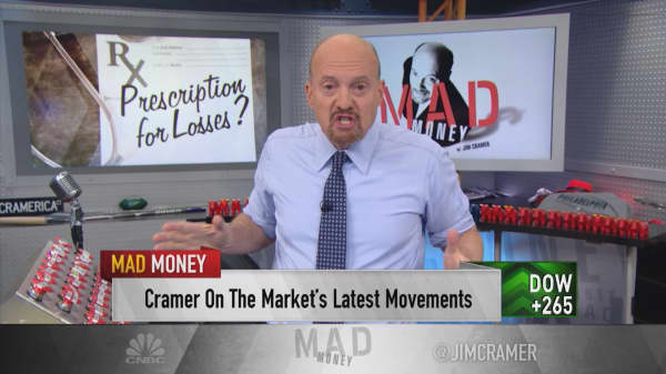 Drug stocks are 'no longer' reliable safety nets for investors: Cramer