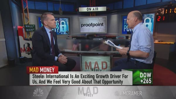 Shifting 'threat landscape' and the cloud are 'great secular growth drivers' for Proofpoint, CEO says