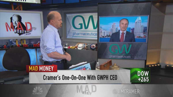 'Important to distinguish between what's medicine and what's not' in cannabis: GW Pharma CEO