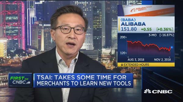 User traffic growth has been robust, says Alibaba's Joe Tsai