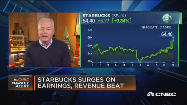 Starbucks CEO: