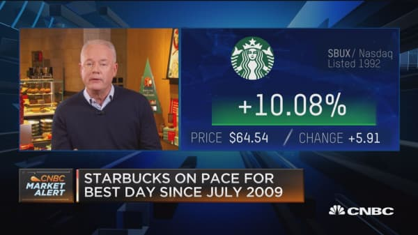 Starbucks CEO: We're playing the long game in China