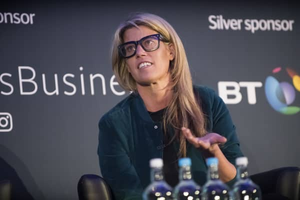 Pip Jamieson, founder of The Dots, at The Telegraph's