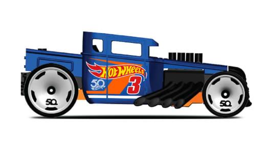 Boneshaker toy car by Hot Wheels