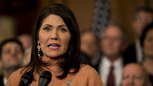 Rep. Kristi Noem, a Republican from South Dakota