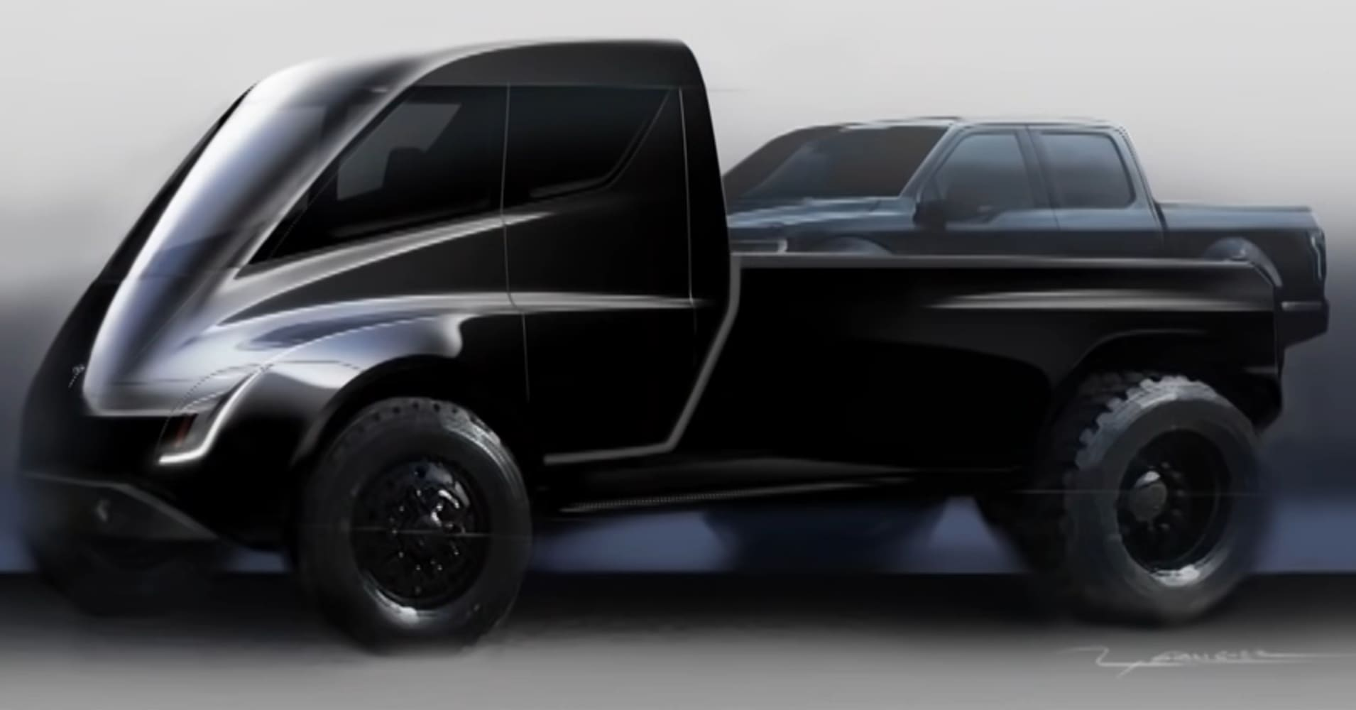 Elon Musk tweets fans might see a Tesla pickup truck next year