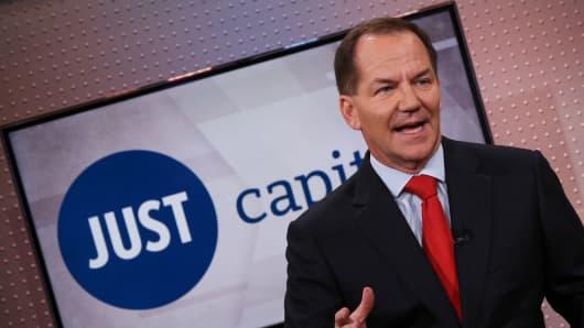 Paul Tudor Jones, founder and CIO of Just Capital.