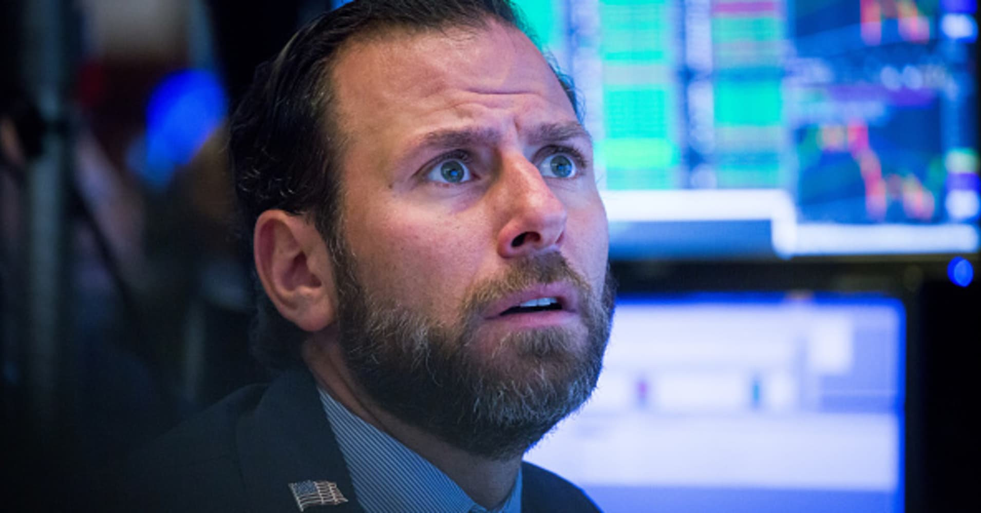 The Dow may drop another 2,000 points before the stock market selling is done: CNBC CFO survey