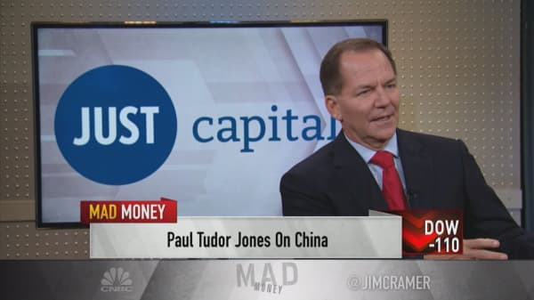Paul Tudor Jones: Rising rates typically cause bear markets, but it's not at the tipping point yet