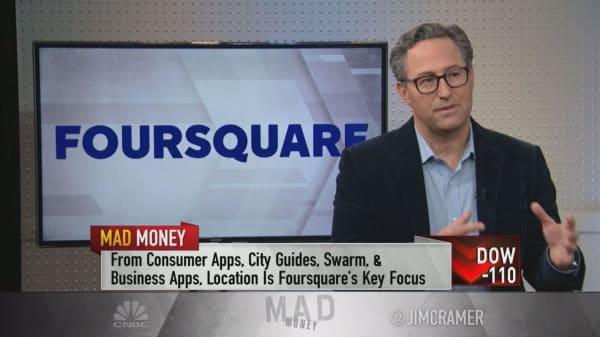 Foursquare CEO: Only Google & Facebook rival Foursquare in terms of data precision