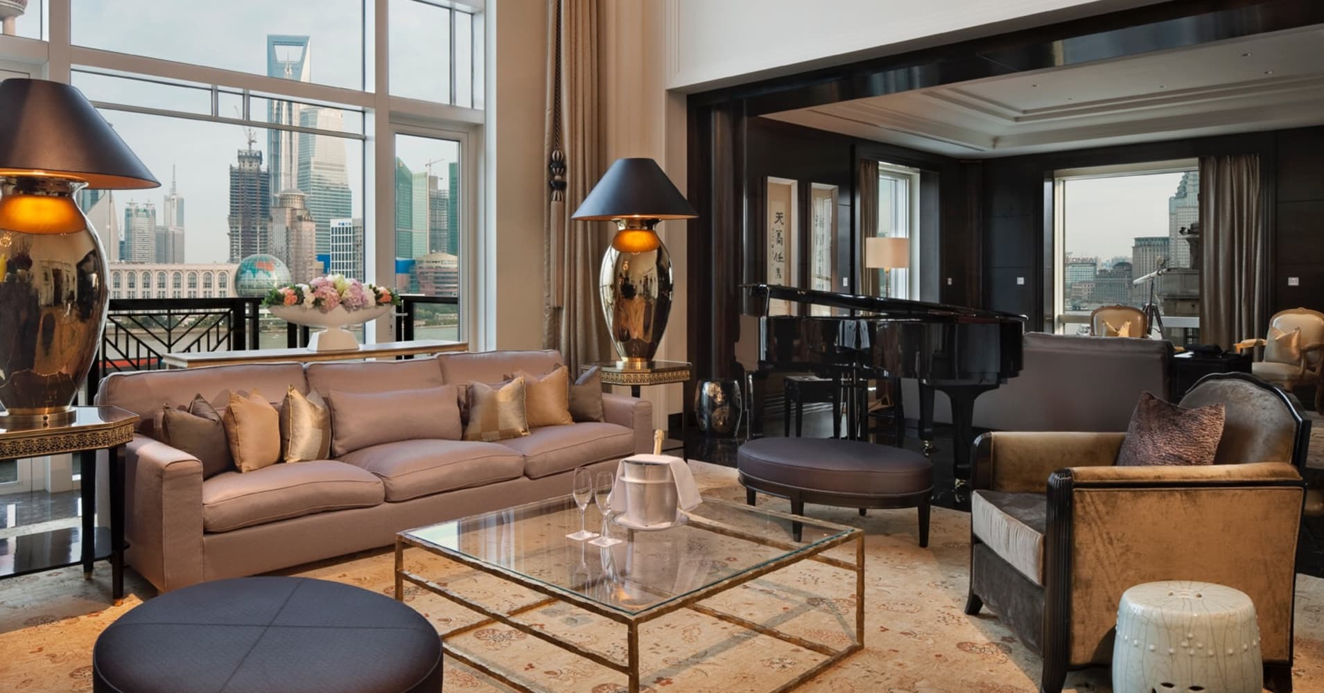 $22,000 per night will get you this Shanghai luxury hotel suite
