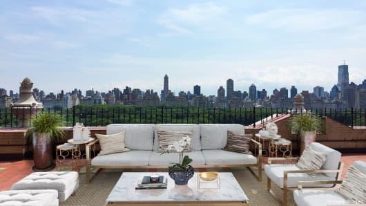 John Legere's penthouse on Central Park West