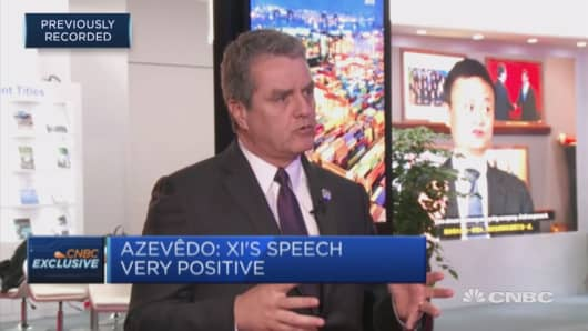 Trade tensions are tough to scale back, says WTO director general
