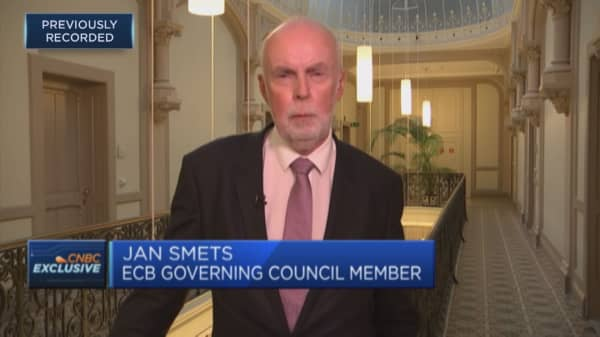 ECB's Smets: Stress tests show increasing resilience in European banks