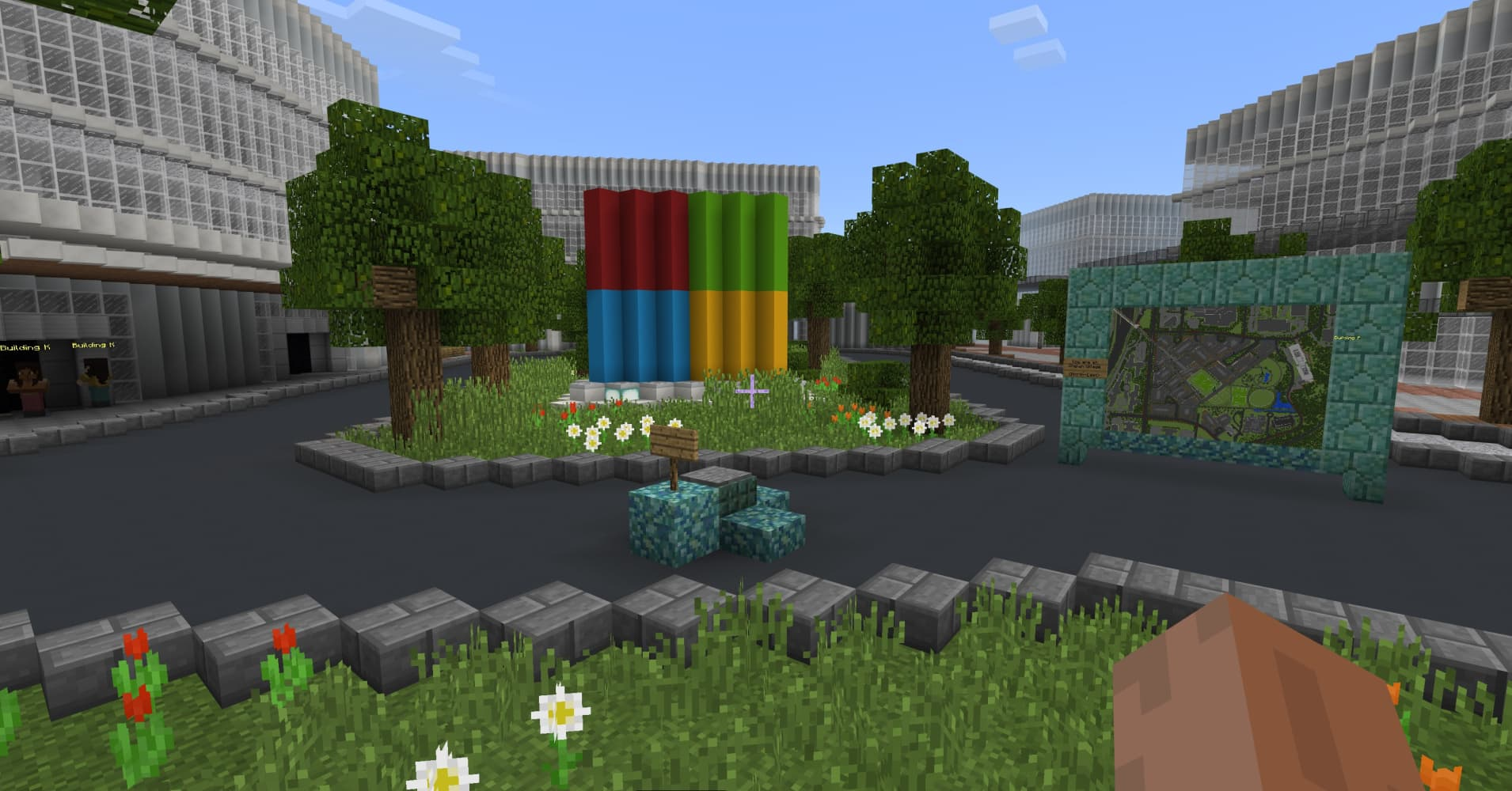 Microsoft Built Its New Campus In Minecraft