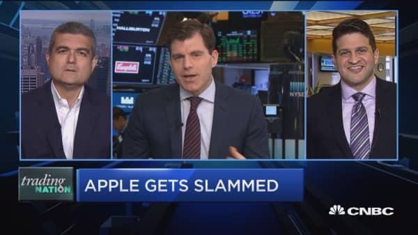 Trading Nation: Apple gets slammed
