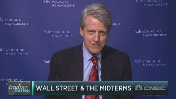 Robert Shiller: Unwise for investors to follow midterm election year patterns in market