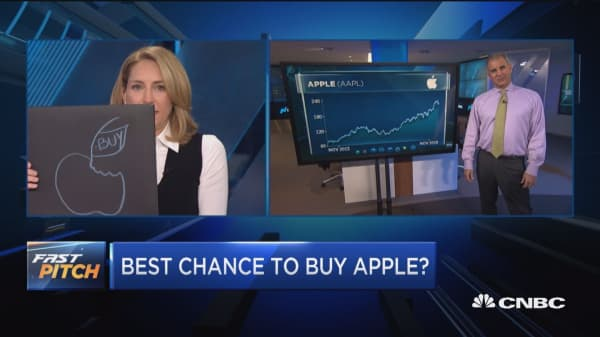 Here's how much Apple means to the market as the stock takes down tech