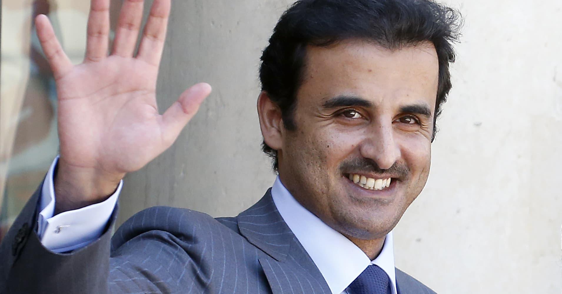 Qatar's Emir says the Gulf 'crises will pass'