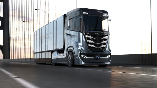 Nikola Motor's Tre semi-truck.