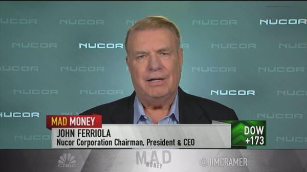 Economy Nucor's driver, steelmaker CEO says