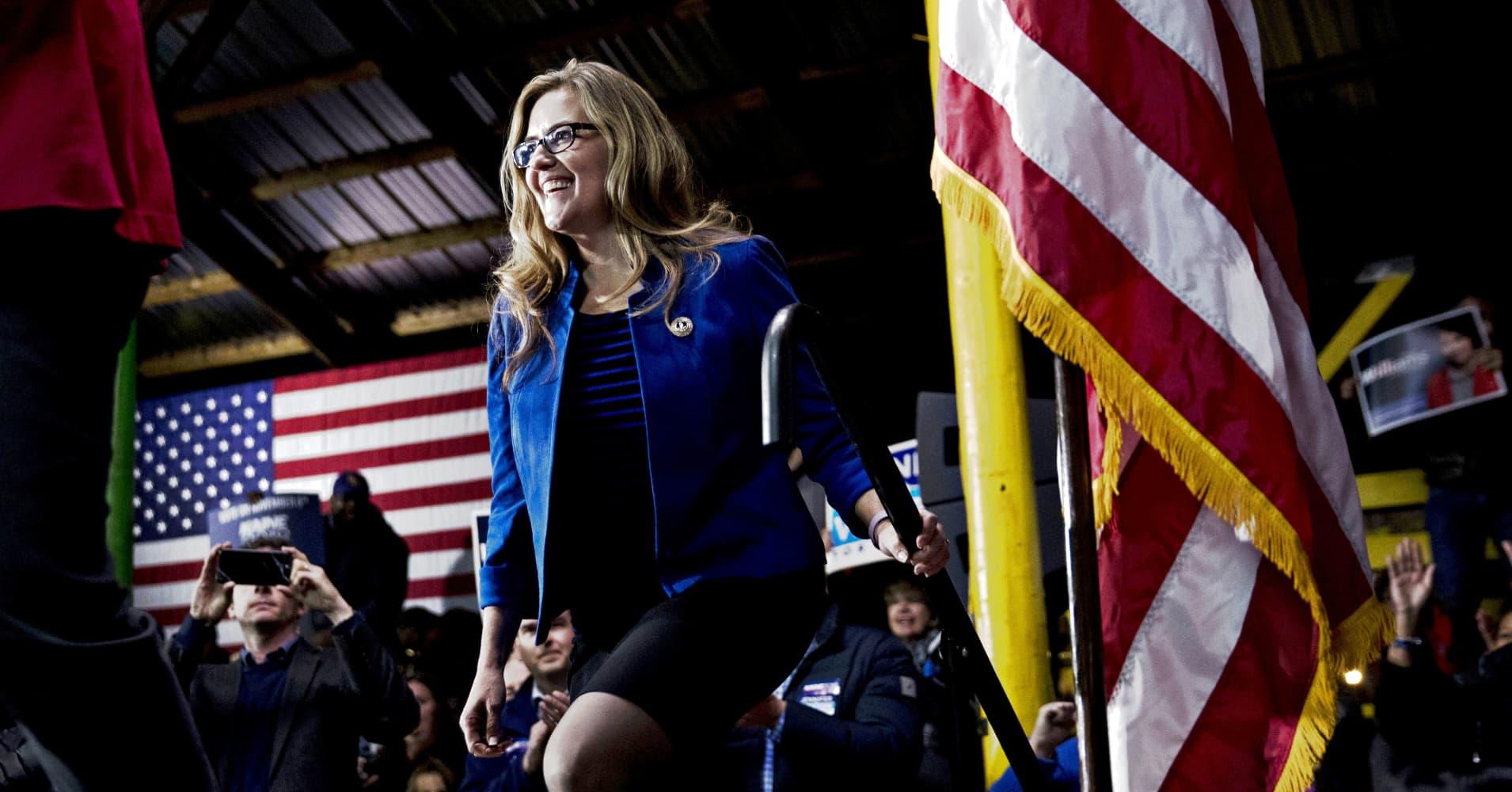 Democrat Jennifer Wexton unseats GOP Rep. Barbara Comstock in Virginia: NBC News