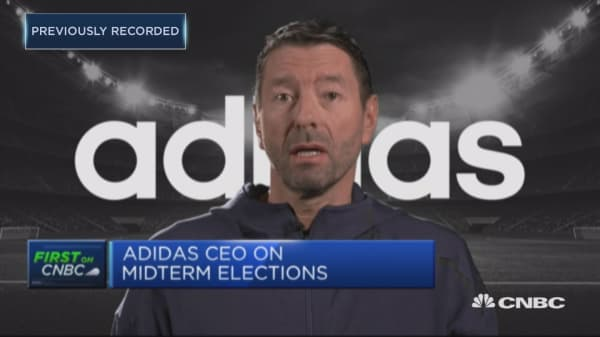 Brexit most unwise economic decision in 30 years, says Adidas CEO