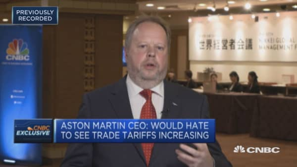 Politicians go wrong with dictating tech solutions, says Aston Martin CEO
