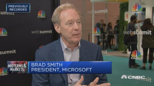 Tech industry needs to work towards the protection of democracy: Microsoft president