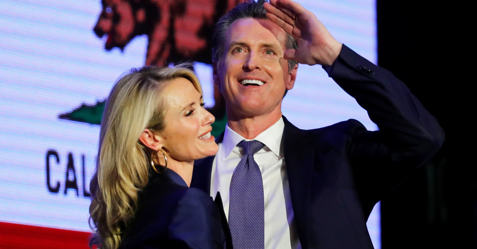 Gavin Newsom takes the reins as California's newly-elected governor on Monday, but some are already worried about the cost of his 'list of promises'