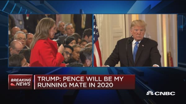 Trump: I think there will be much less gridlock