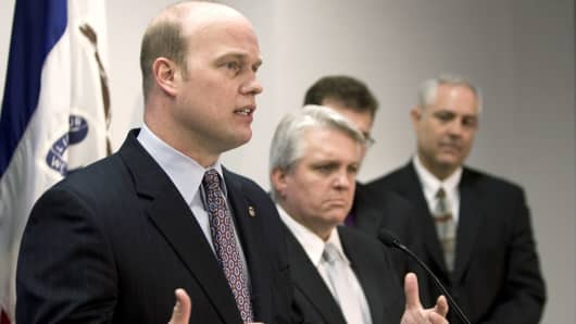 Matthew Whitaker, former Chief of Staff to Jeff Sessions at the Department of Justice.
