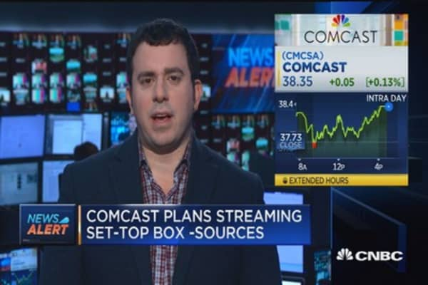 Comcast plans streaming box for broadband customers