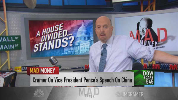 Cramer's advice on investing during Washington gridlock: Buy fast growers