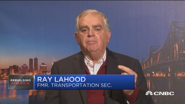 Former Transporation secretary on infrastructure policy hopes