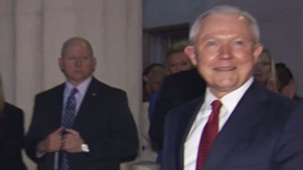 Attorney General Jeff Sessions forced out