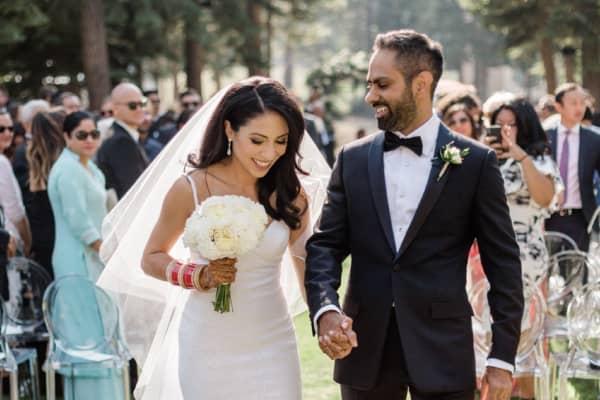 Ramit Sethi and his wife, Cassandra.