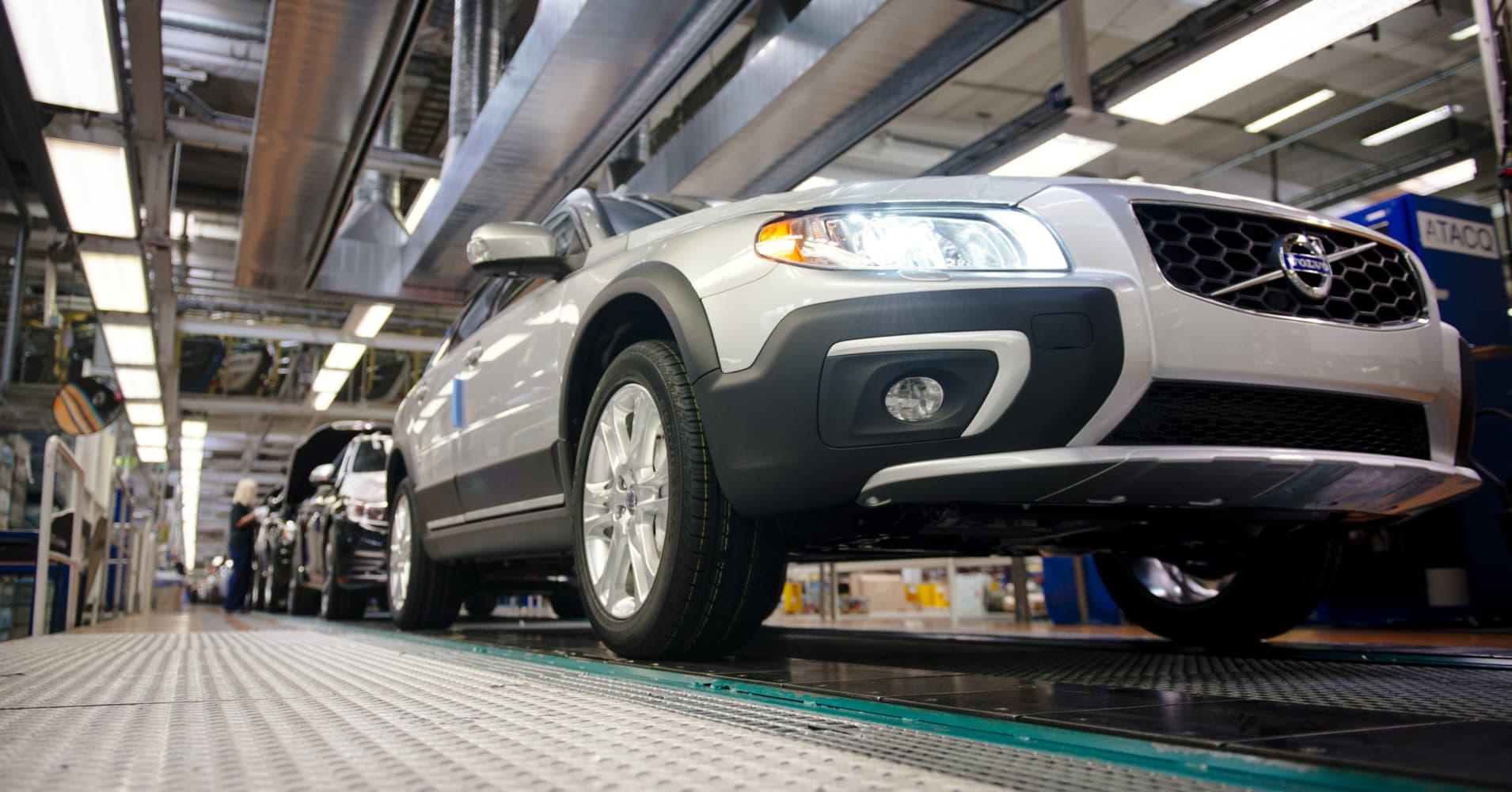 Volvo Cars feels margin pressure from US-China tariff war