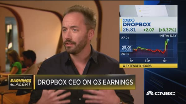 Dropbox CEO: 'We're not going to run out of people who need Dropbox anytime soon'