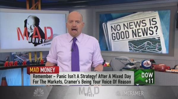 October's meltdown may have been the best thing for this market, Cramer says