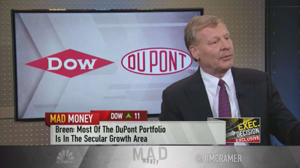 DowDuPont CEO on upcoming split