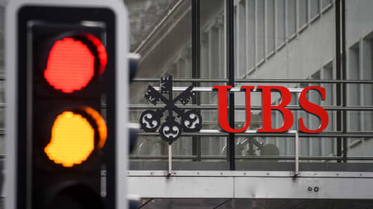 Swiss banking giant UBS.